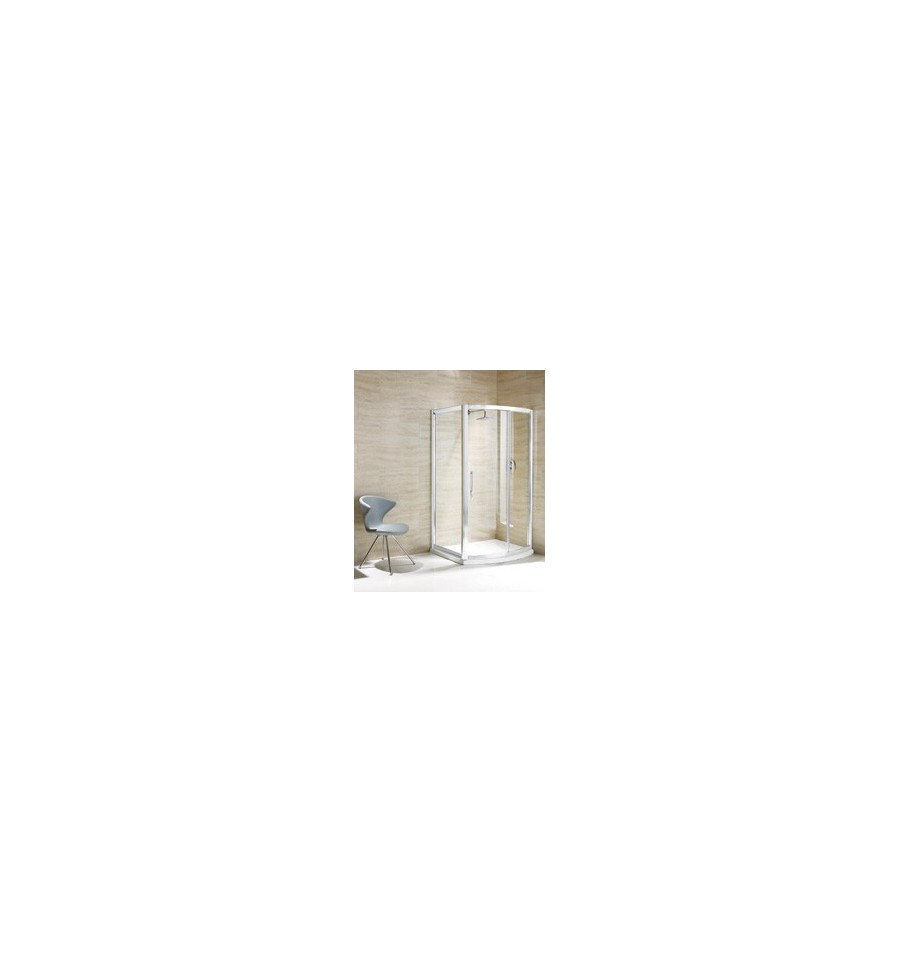 Flair Namara Bow Slider Shower Door 1200mm