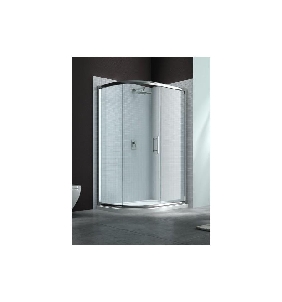 Merlyn 6 series offset quadrant 1000mm x 800mm sliding door for 1000mm door