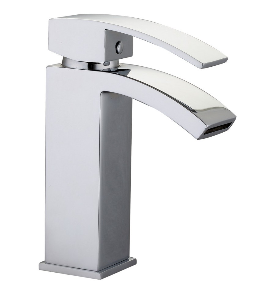 aqualla zen monobloc basin mixer tap. Black Bedroom Furniture Sets. Home Design Ideas