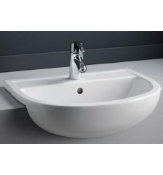 Express 550mm Semi Recess Basin