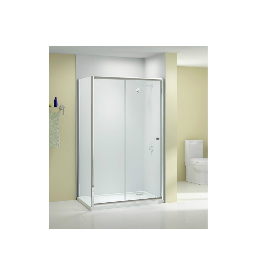 merlyn source sliding shower door 1150mm 1190mm