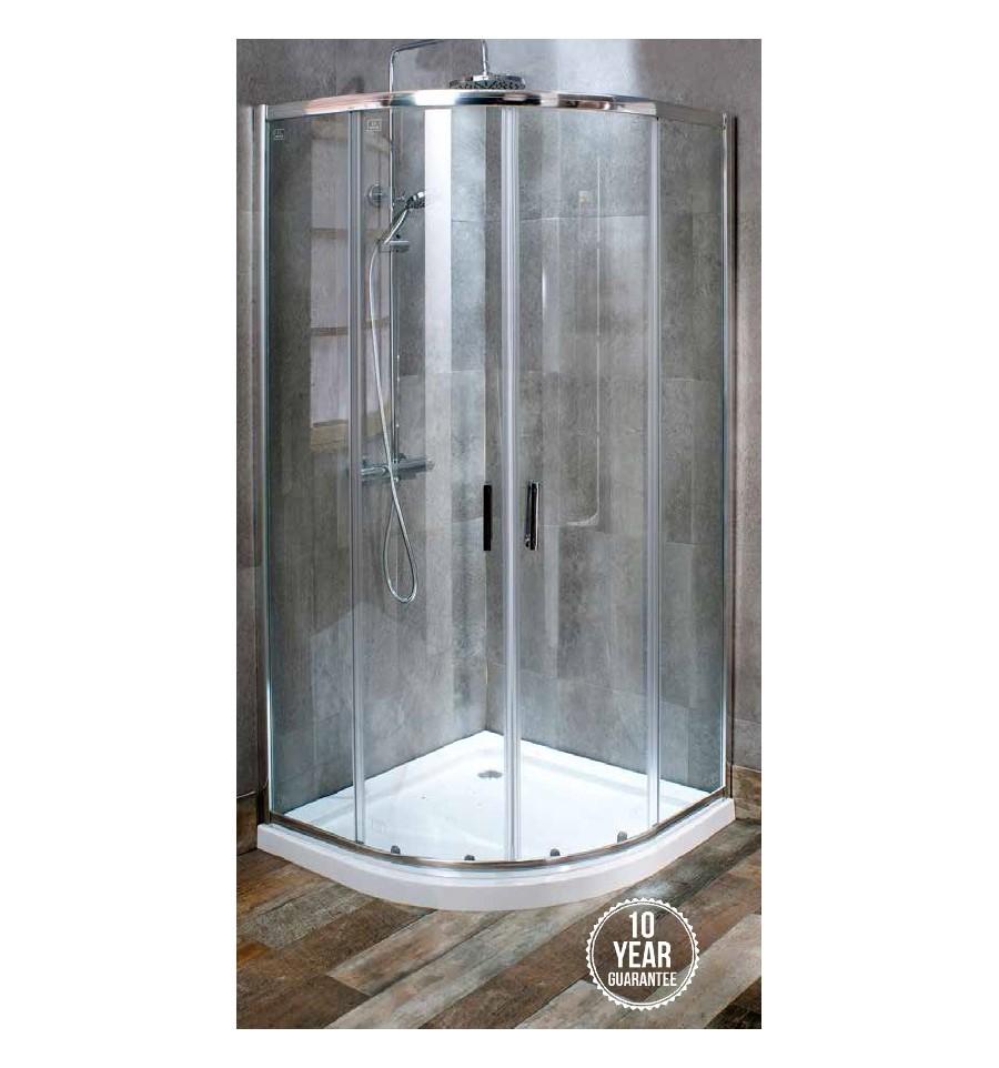 Fastini Dl8q Quadrant 800mm Sliding Shower Door