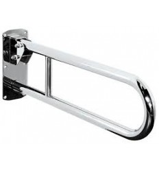 Grab Rail Hinged 850 Chrome