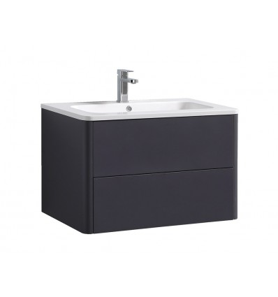 Metro 800mm 2 Drawer Wall Unit and Resin Basin