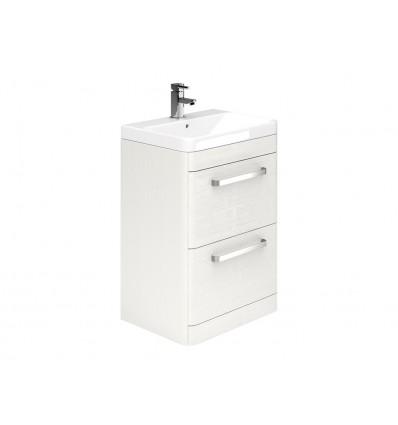 Luxury 500mm 2 Drawer Floor Unit and Zen Basin