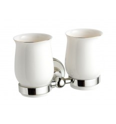 Adare Double Tumbler Holder & Cup