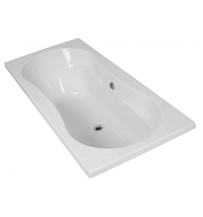 Linea Double Ended Bath 1800x800
