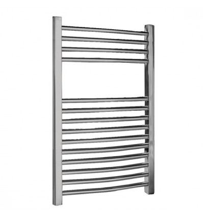 Towel Radiator Chrome Curved 800mm X 500mm