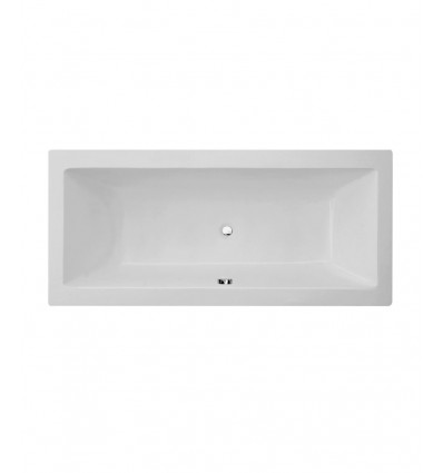 Milan Square Double-Ended Bath 1800mm