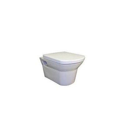 Denver Wall-Hung Pan With Soft Close Seat