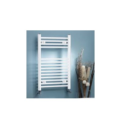 Towel Radiator WHITE Curved 760mm X 500mm