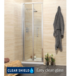 SONAS Revive 700 Bifold Shower Door - Adjustment 640-700mm Code E19BF70