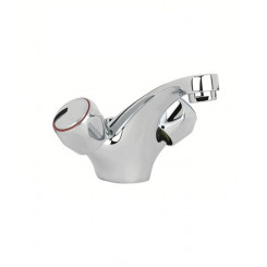 SONAS Metal Head Basin Mixer with FREE Click Clack Basin Waste Code MAYMH05CP