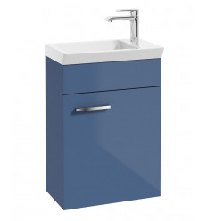 SONAS Charm Gloss Blue 45cm Wall Hung Vanity Unit Code WCH01GB