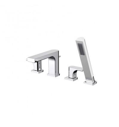 STUDIO Valetta Bath Shower Mixer - Chrome