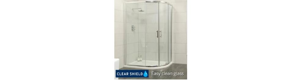 Offset Quadrant Shower Doors