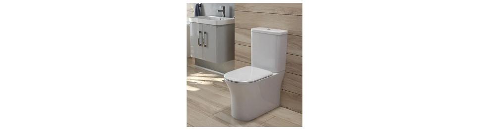 Fully Shrouded Toilets